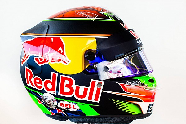 Casque de Brendon Hartley