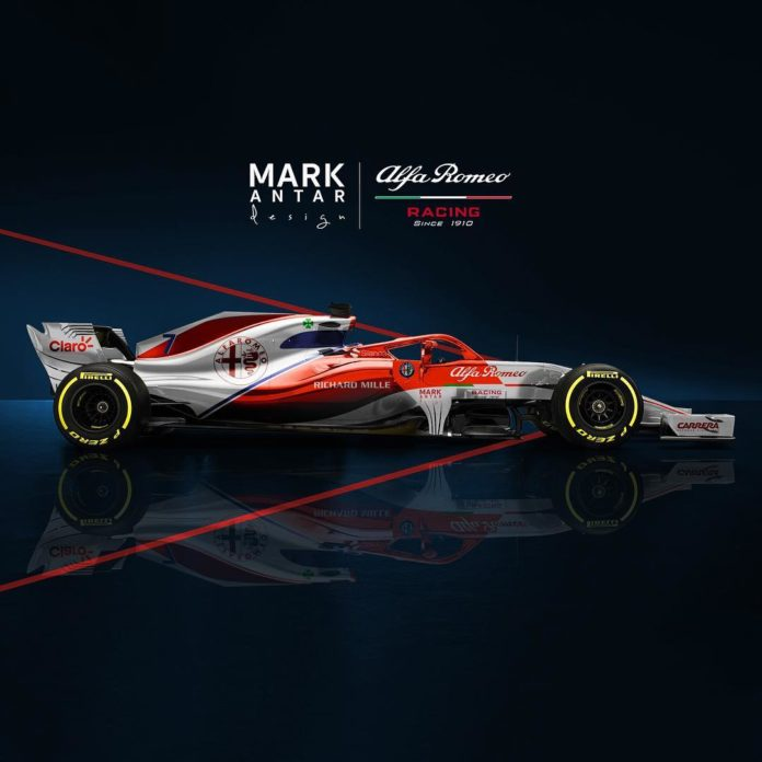 Alfa Romeo Racing 2019 - Mark-Antar-Design