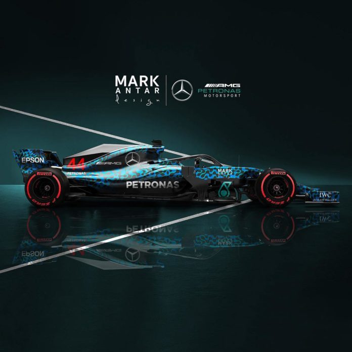 Mercedes 2019 - EQ Camo - Mark Antar Design