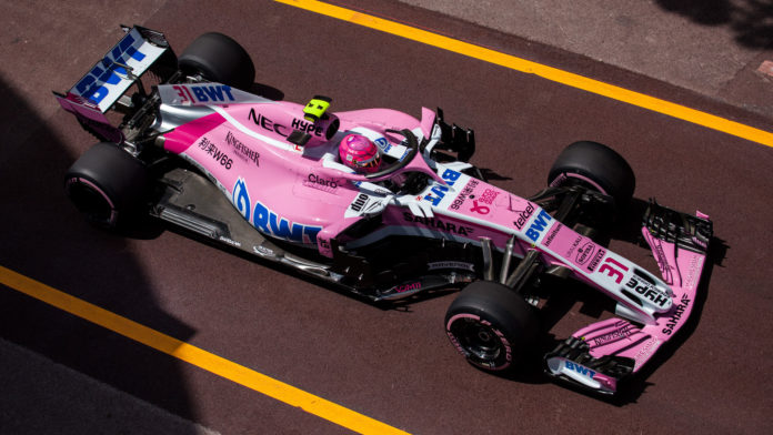 Ocon - Force India - Monaco 2018
