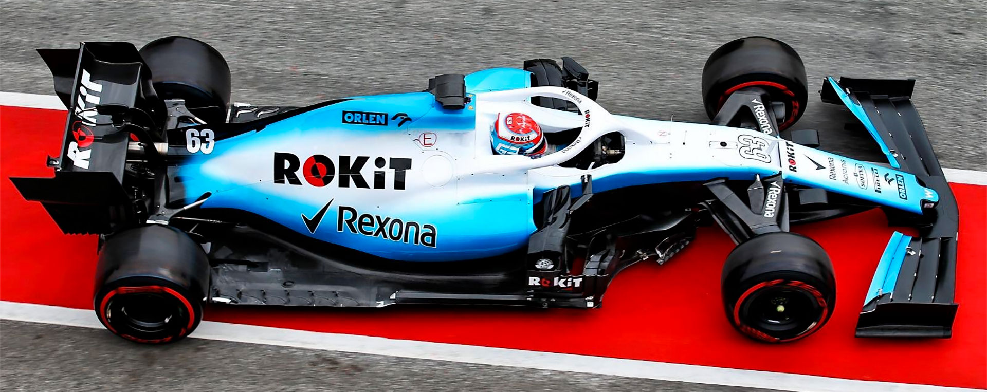 Williams FW42 - Russell - Essais Hivernaux 2019